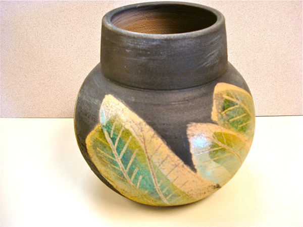 6 x 6 Clay Pot by Shirley Brauker