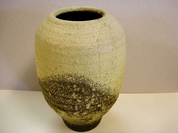 Clay Vase by Shirley Brauker
